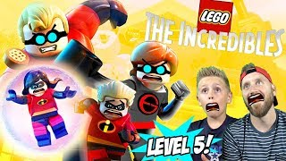 Dash and Violet in Trouble! LEGO The Incredibles Gameplay for Nintendo Switch Part 5