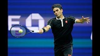 Roger Federer vs Grigor Dimitrov Extended Highlights | US Open 2019 QF