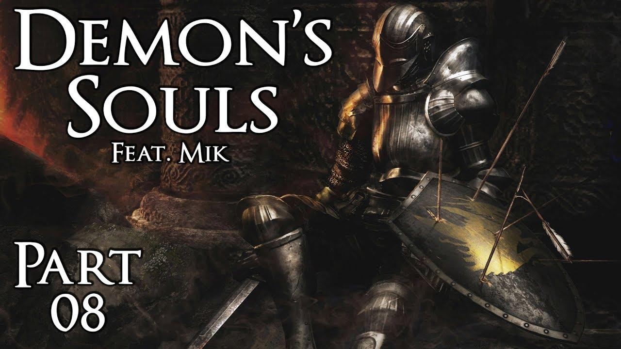 Demon's Souls (feat. Mik) – Part 8: Das Finale mit Frau Shrubnella und Mik (1-3 & 1-4)