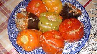 Овощные голубцы или фаршированные овощи