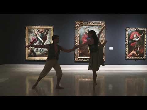 San Diego Ballet/ Don Juan Pas de Deux at the San Diego Museum of Art.  dancers Stephanie Maiorano & Tonatiuh Gomez,