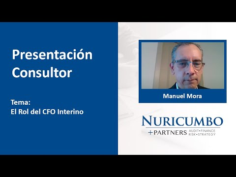 Cápsula de Presentación: Manuel Mora