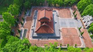 Cảnh Quan Tổ Chức Đại Lễ Trung Phong TTHN Thành Cổ Sơn Tây Hà Nội Nhìn Từ Flycam