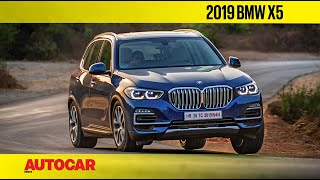 2019 BMW X5 Review   First India Drive   Autocar India