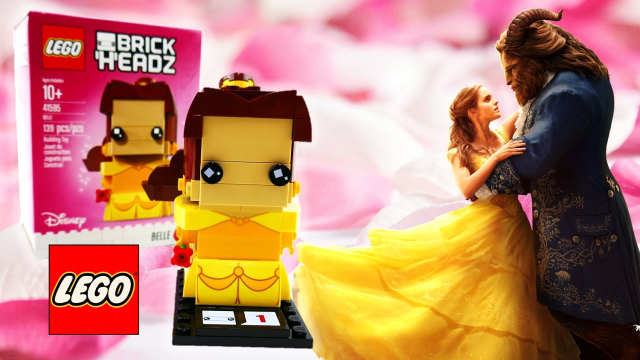 Beauty and the Beast LEGO Brick Headz Belle 41595 Review | Evies Toy House