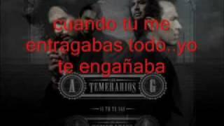 Los Temerarios- Te Hice Mal