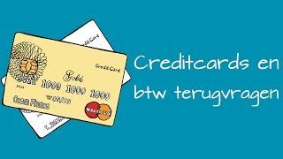 Creditcards en btw terugvragen