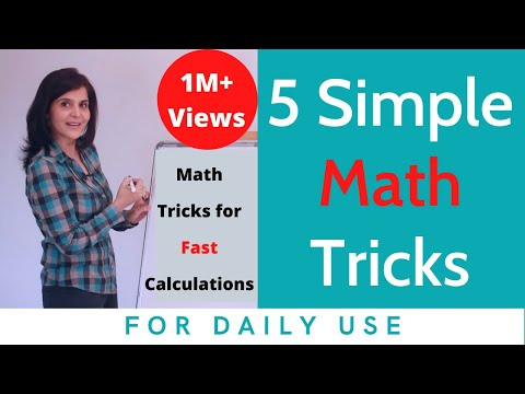 5 Simple Math Tricks For Fast Calculations | Mathematics Tricks for Daily Use | ChetChat Math Tips