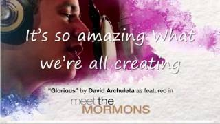Glorious with lyrics by David Archuleta