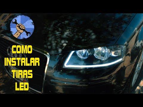 COMO INSTALAR TIRAS LED EN FAROS (COMPLETO)