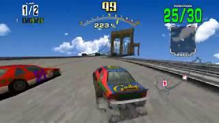 Sega Racing Classic - Teknoparrot 1 0 - 60FPS Native - hmong video