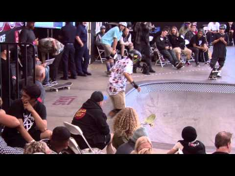 Heimana Reynolds 2nd place Vans Pool Party Pro qualifiers 2015