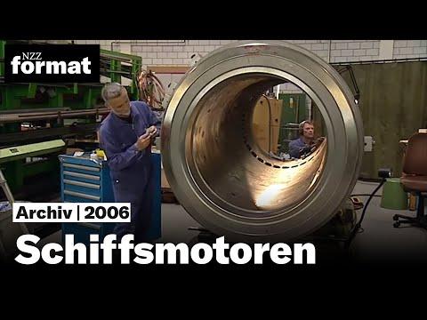 Schiffsmotoren: Meeresgiganten im Zweitakt - Dokumentation von NZZ Format (2006)
