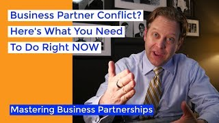 Resolve Your Business Partner Conflict NOW | Business Partnership Mastery