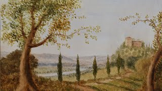 Landscape Painting Demo Oil Paintin With Miguel Bevia