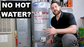 No Hot Water: Water Heater Troubleshooting