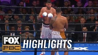 Dominic Breazeale KO's Carlos Negron, Calls Out Deontay Wilder | HIGHLIGHTS | PBC ON FOX