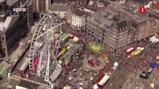 preview picture of video 'Queensday in Amsterdam'