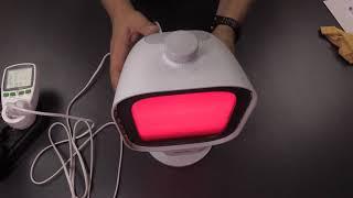 Philips PR3120/00 InfraCare Infrarotlampe 300 Watt