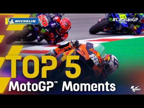 KTMのオリベイラが優勝 MotoGP 2021 カタルニアGP 決勝レースのハイライト動画