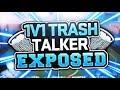 1v1 a trash talker(fortnite playground mode)