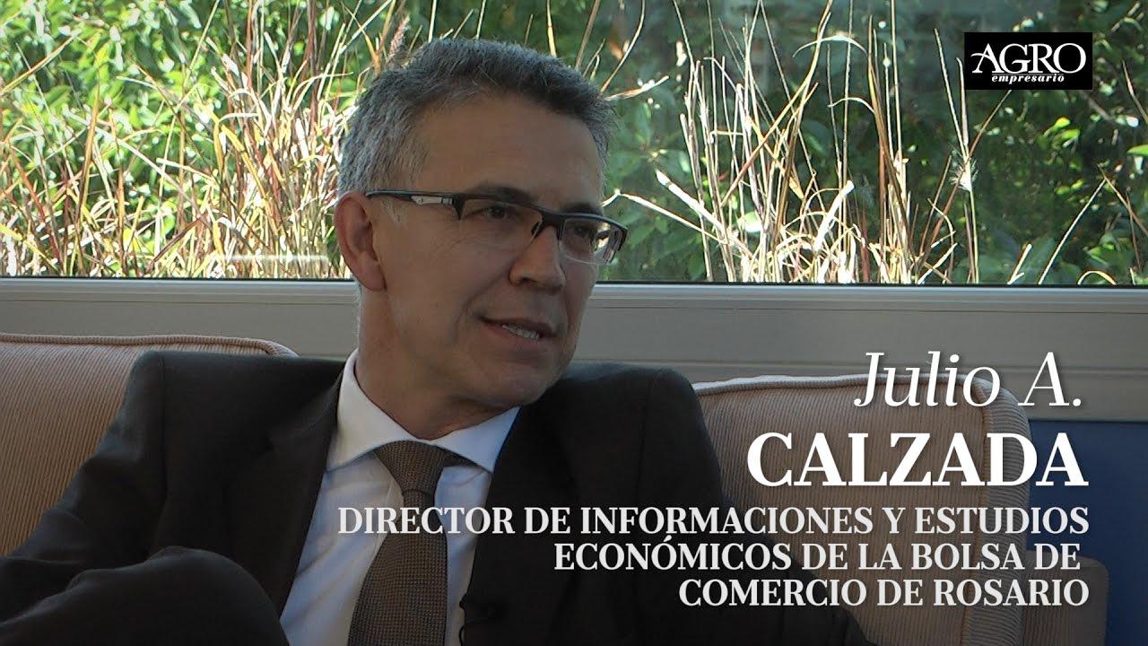 Julio A. Calzada - Director de Informaciones y Estudios Económicos de la BCR