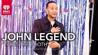 """John Legend Takes """"The Booth"""" For The iHeartRadio Music Awards 