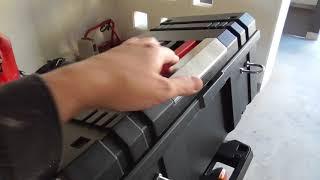 私のNC750X RC90 -12 自作改造ホムセン箱