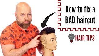 How to Fix a Bad Haircut at Home - TheSalonGuy