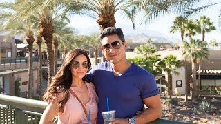 Mario Lopez relaxes in the oasis