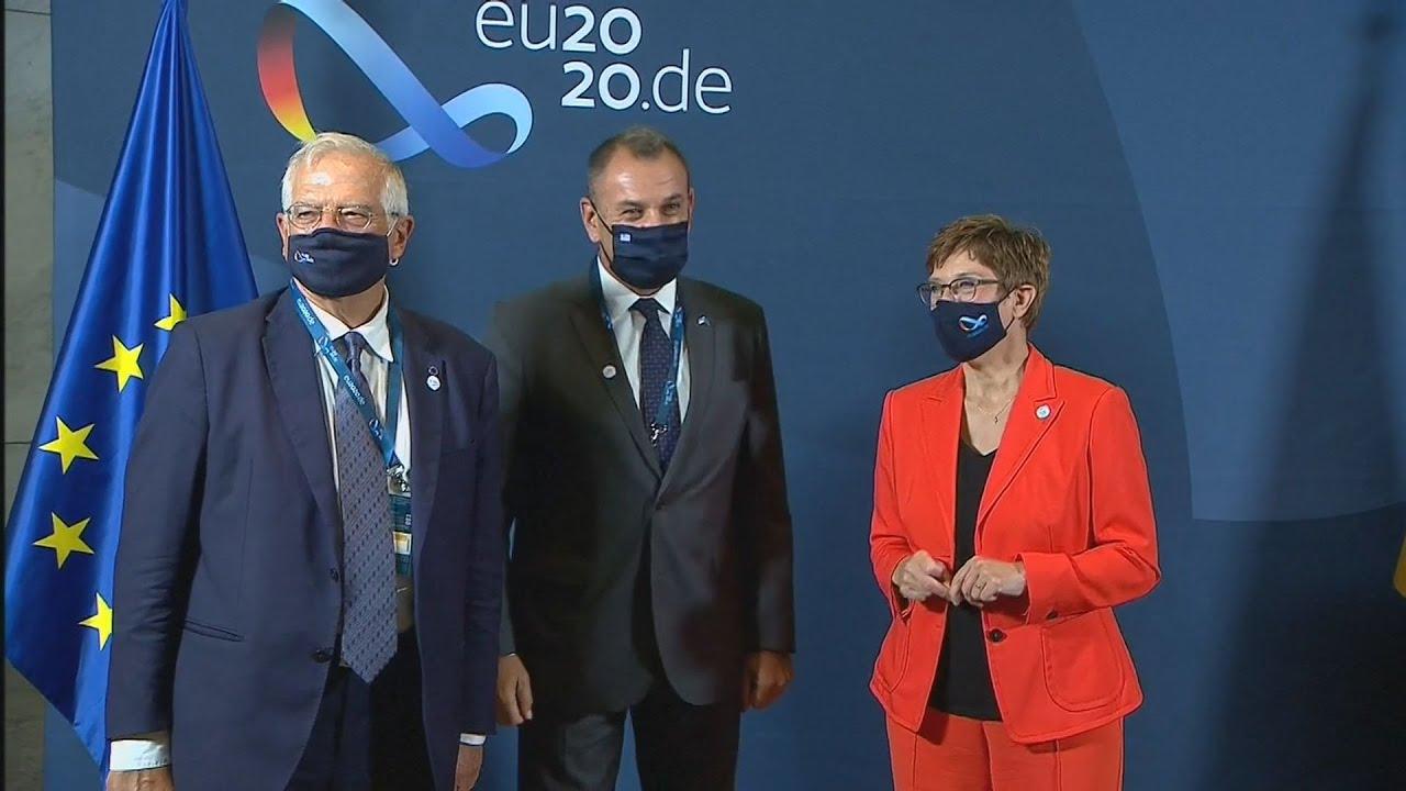Στο Βερολίνο ο Ν. Παναγιωτόπουλος για τη σύνοδο των υπουργών Αμυνας της ΕΕ