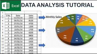 Data Analysis in Excel Tutorial