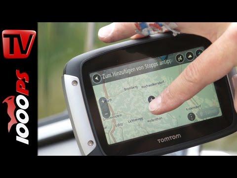 Tom Tom Rider 400 Motorrad Navi – erster Test