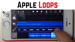 Using Apple Loops To Create Cool Sounds - GarageBand for iOS (iPhone/iPad) Quick Tip
