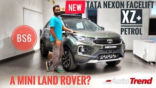 2020 Tata Nexon BS6 Facelift XZ+ | Most Detailed Review | AutoTrend | A Mini Land Rover !?
