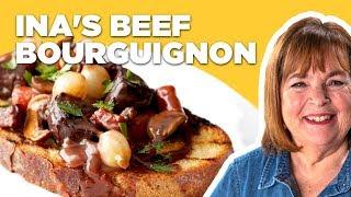 Barefoot Contessa Makes Beef Bourguignon   Food Network
