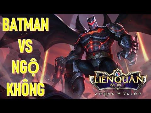 Kèo đối đầu đi rừng tàng hình Batman vs Ngộ không - Bất tử hủy diệt Ngộ không ntn?