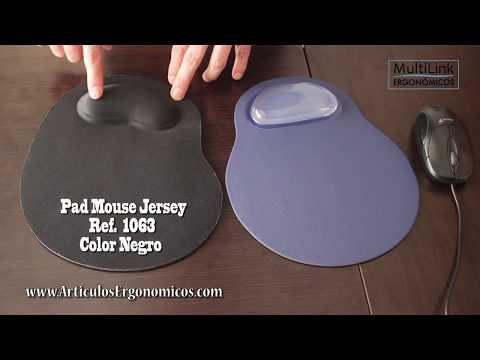 Pad Mouse Jersey y con GEL  Ref  1063 y 0997 - MultiLink Ergonómicos