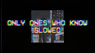 Arctic Monkeys - Only Ones Who Know { slowed }