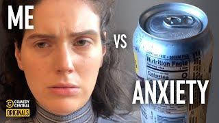 What it Feels Like to Open a Seltzer in a Meeting - Eva vs. Anxiety