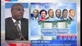 Analysis on Uhuru Kenyatta, Raila Odinga Pull of Debate
