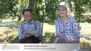 Les extraits du Sommet #012 – Claire Chanut & Pierre Rabhi
