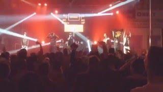 Smack & Sergei Barracuda - Motivační Píseň (Prod. WZ) live @ Křest Bída&Bolest