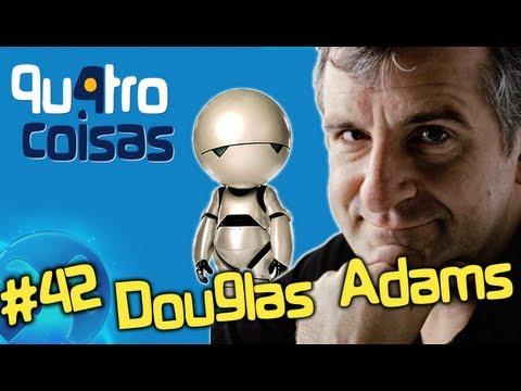 Douglas Adams e o O Guia do Mochileiro das Galáxias