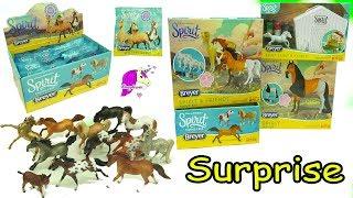 Full Box Unboxing Spirit Riding Free Stallion Breyer Stablemates Horse Surprise Blind Bags