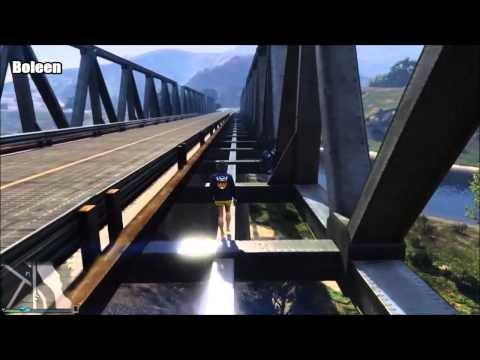 GTA V Player Finally Nails Stunt After 16 Frustating Tries
