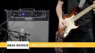 Mesa Boogie Triple Crown TC-50 Combo 1x12 - Video