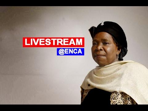 WATCH: Dlamini Zuma delivers address