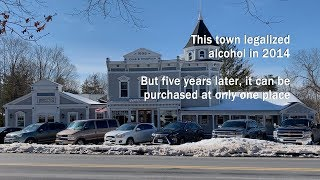 This town legalized alcohol in 2014. But five years later, it can be purchased at only one place