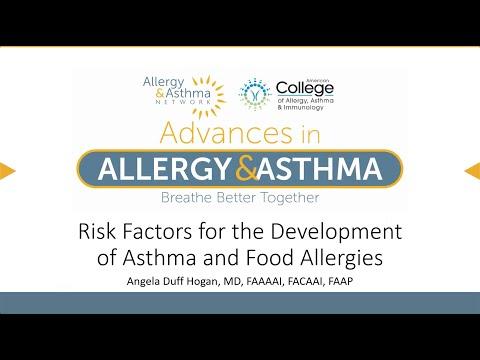 Czynniki ryzyka rozwoju astmy i alergii pokarmowych